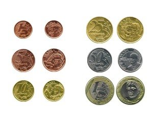 moedas real