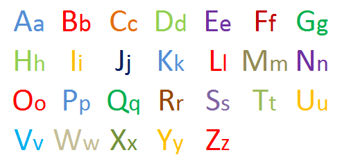 english-alphabets