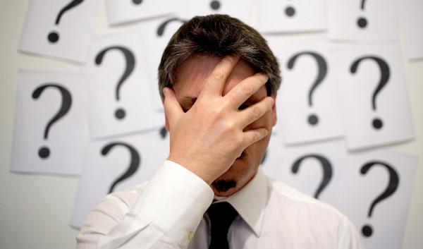 man-question-mistake ポルトガル語は難しい言語なので、ブラジル人ですら頻繁に
