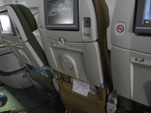 エチオピア航空シート